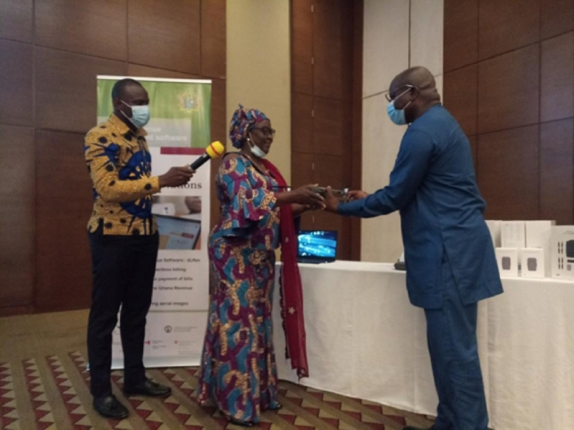 Minister launches digitial solutions for revenue mobilisation for MMDAs